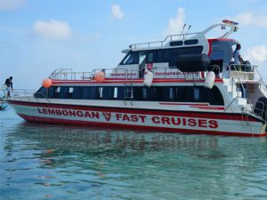 fast boat from Bali to Lembongan